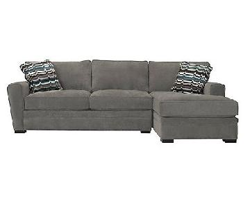 Raymour & Flanigan Artemis Sleeper Sectional Sofa w/ Chaise