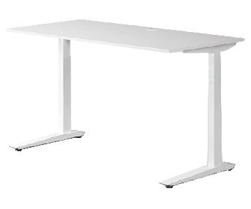 Fully Jarvis Height Adjustable Sit Stand Desk