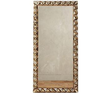 Anthropologie Studded Pyramid Mirror