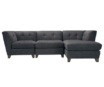 Raymour & Flanigan Tate Sectional Sofa w/ Chaise