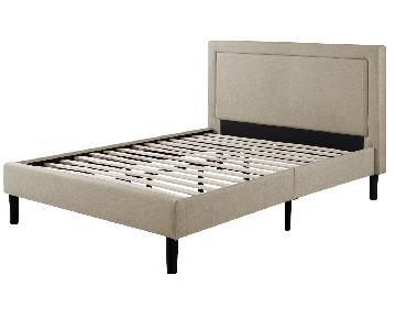 Winston Porter Mariel Platform Double/Full Bed w/ Headboard