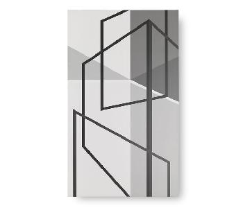Mitchell Gold + Bob Williams Geometric Perspective Wall Art