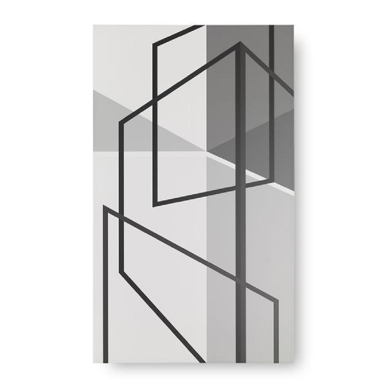 Mitchell Gold + Bob Williams Geometric Perspective Wall Art-0
