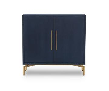 Mitchell Gold + Bob Williams Ming Storage Chest in Indigo