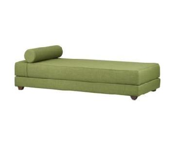 CB2 Lubi Green Sleeper Daybed