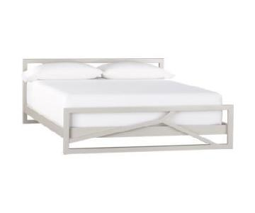 CB2 Branch Queen Bed Frame