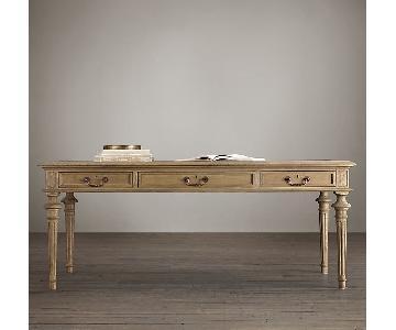 Restoration Hardware French Partner's Desk