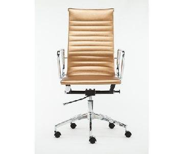 Winport Industries Gold Executive Chair