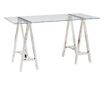 West Elm Cross Base Dining/Office Table