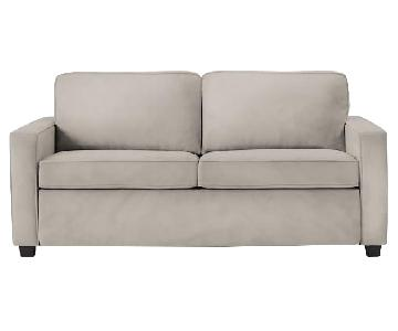 West Elm Dove Gray Henry Sleeper Sofa