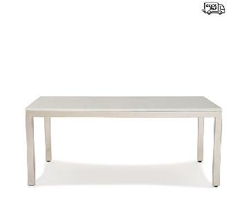 Mitchell Gold + Bob Williams White Quartz Dining table