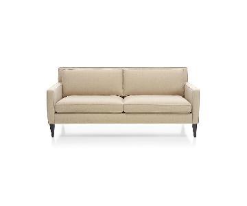 Crate & Barrel Rochelle 2 Seater Sofa