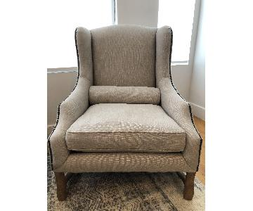 Restoration Hardware 17th Century Wingback Chair