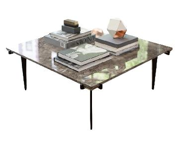 Gabriel Scott Prong Marble Coffee Table