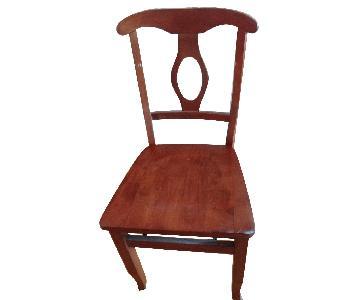 Oak & White Kitchen/Dining Chairs