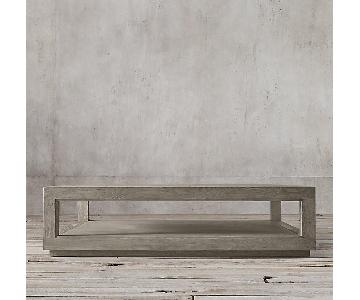 Restoration Hardware Grand Square Coffee Table
