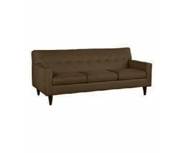 Macy's Clare Fabric Sofa + Chair