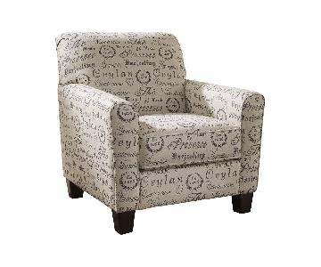 Ashley Alenya Accent Chair & Ottoman