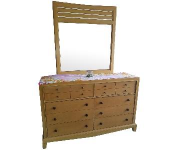 Bassett Dresser w/ Mirror