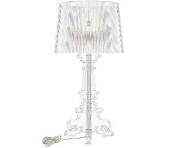 Manhattan Home Design Grande Table Lamp in Clear