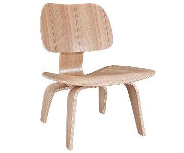 Manhattan Home Design Wood Lounge Chair