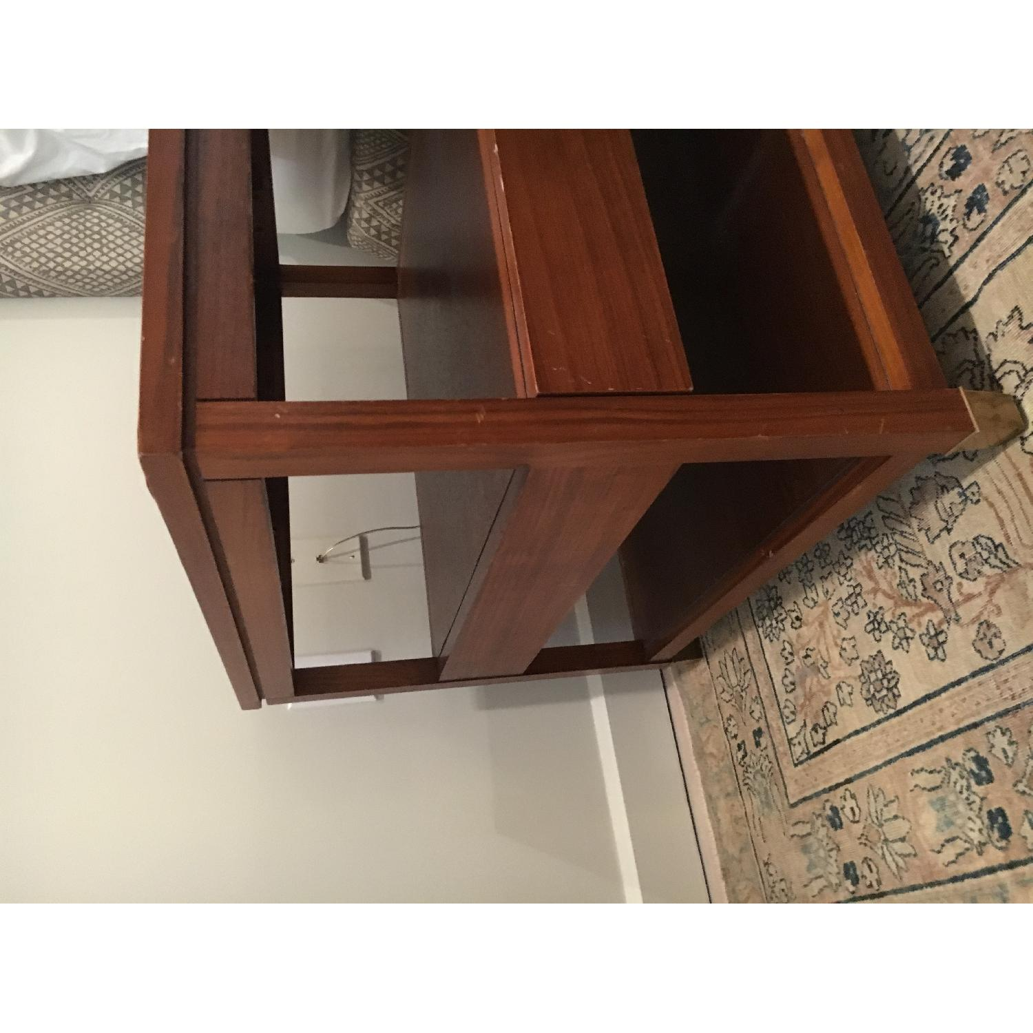Mitchell Gold + Bob Williams Wood Side Table w/ Drawer-6