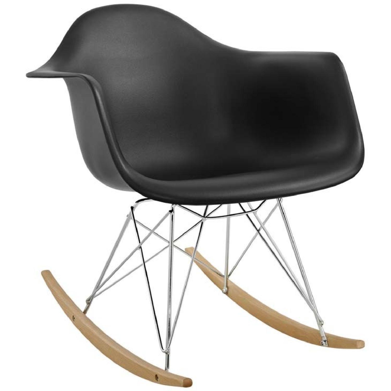 Manhattan Home Design Rocker Plastic Lounge Chair