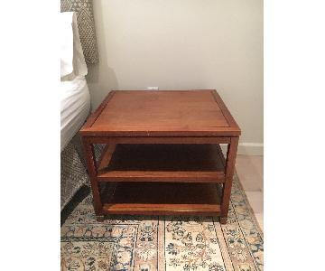 Mitchell Gold + Bob Williams Wood Side Table