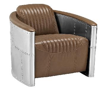 Manhattan Home Design Visibility Upholstered Lounge Chair