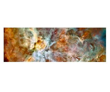 Plexi Mounted NASA Hubble Carina Nebula Image