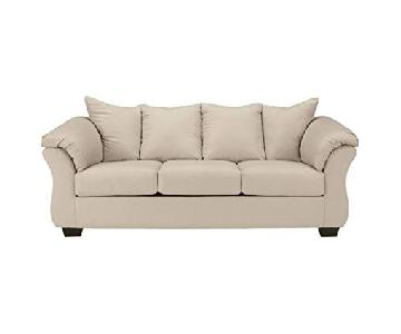 Ashley Darcy Sofa w/ Throw Pillows