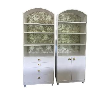 Mid Century Modern Bookshelves w/ Storage