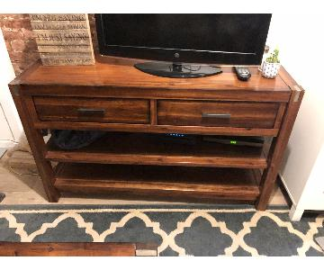 Ethan Allen Entertainment Unit