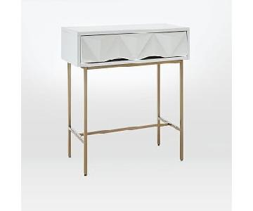 West Elm Modern Mini Entry Way Console