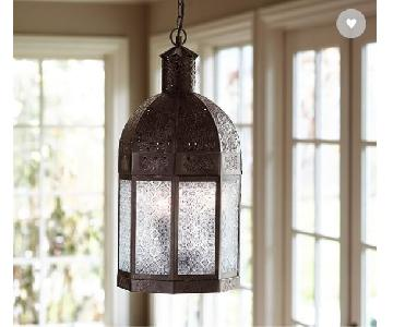 Pottery Barn Hanging Casablanca Lanterns
