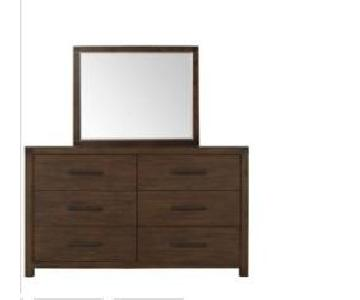 Raymour & Flanigan 6 Drawer Dresser w/ Mirror