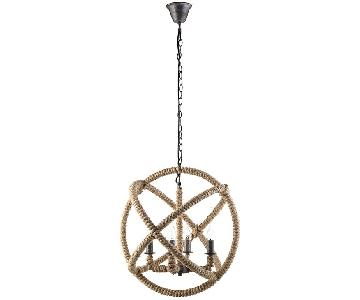 Manhattan Home Design Intention Chandelier in Brown