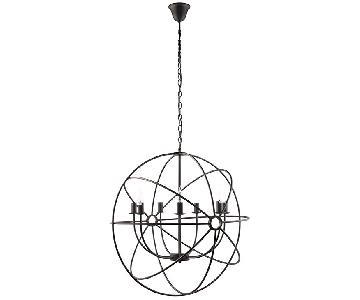 Manhattan Home Design Atom Chandelier Lamp