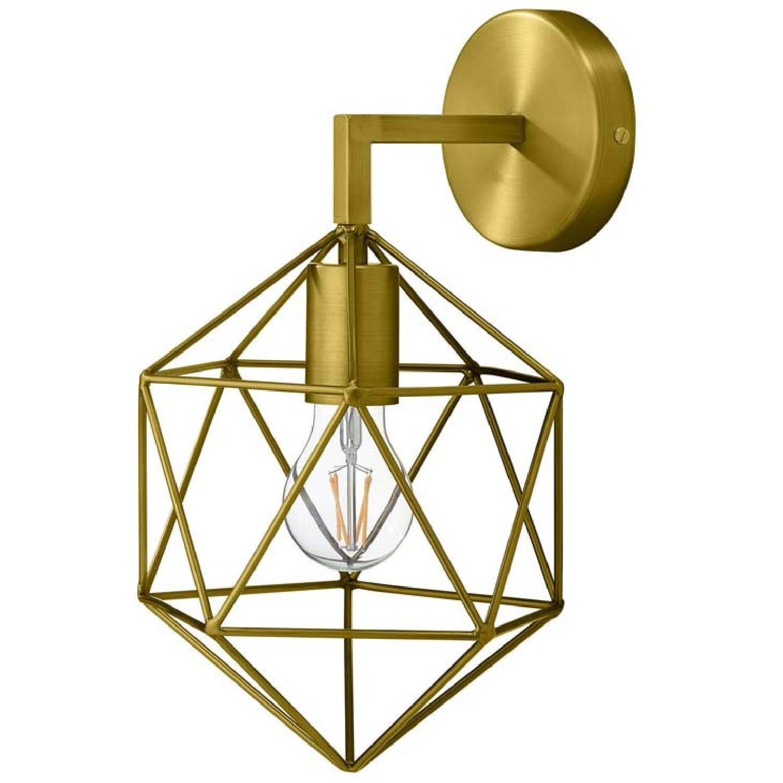 Manhattan Home Design Derive Brass Wall Light
