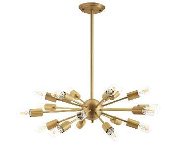 Manhattan Home Design Resolve Brass Pendant