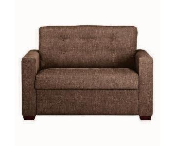 Crate & Barrel Allerton Twin Sleeper Sofa