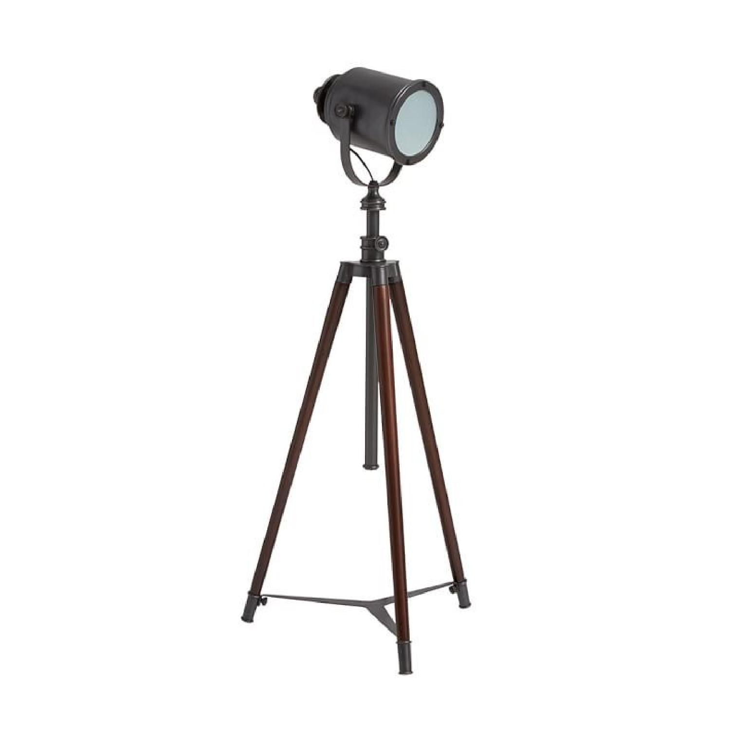Pottery Barn Photographer's Tripod Floor Lamp