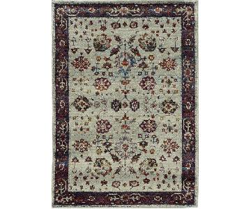 Oriental Weavers Andorra Light Gray Area Rug