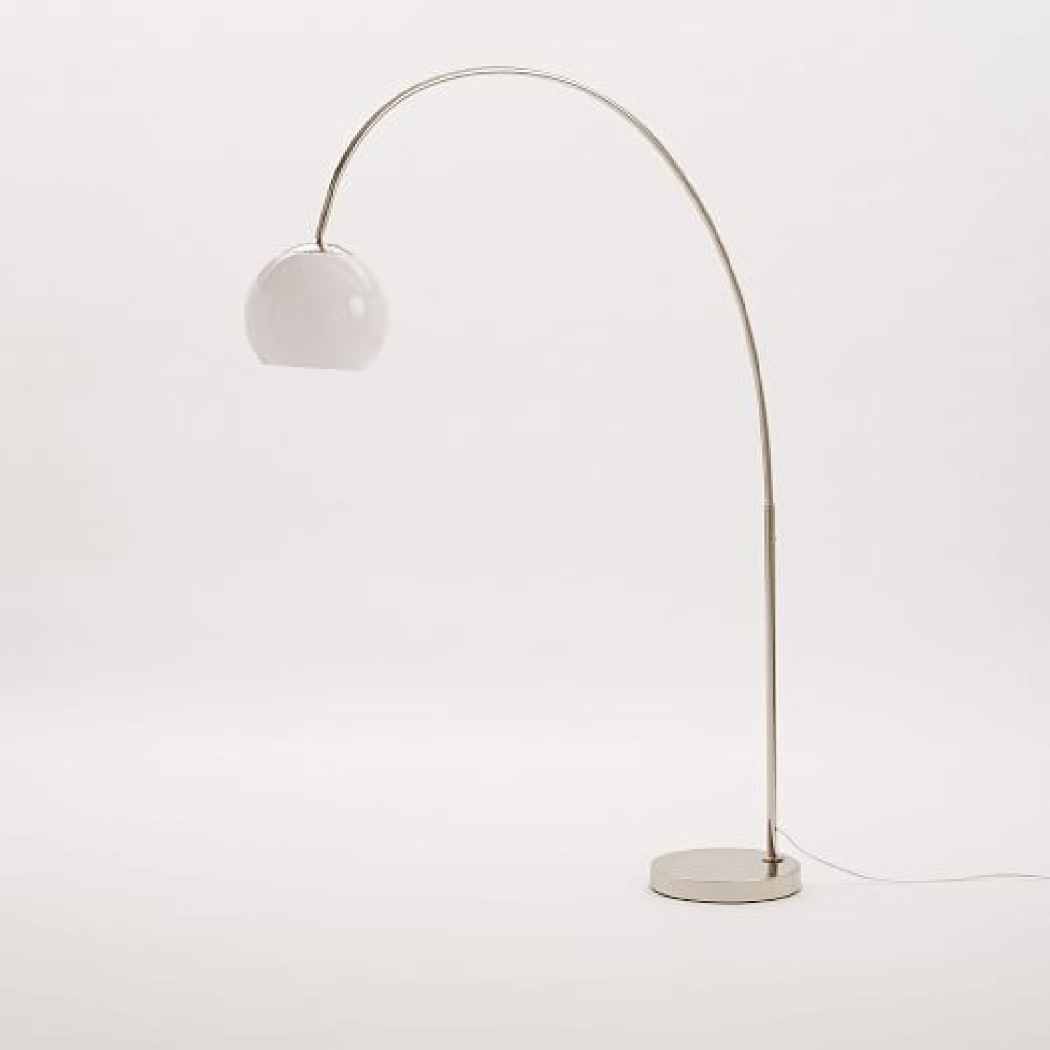 West Elm Overarching Acrylic Shade Floor Lamp-3