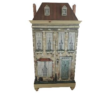 Design South Artist Painted Armoire/Childrens Cabinet