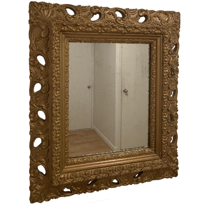 Antique Style Bronze Mirror