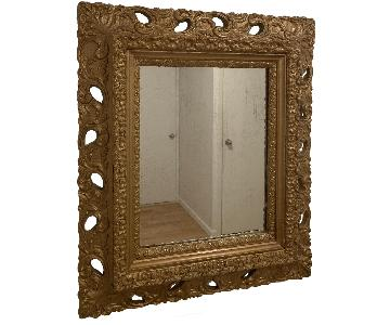 Antique Style Bronze Mirror