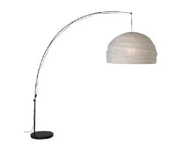 Ikea Regolit Floor Lamp w/ LED Bulb
