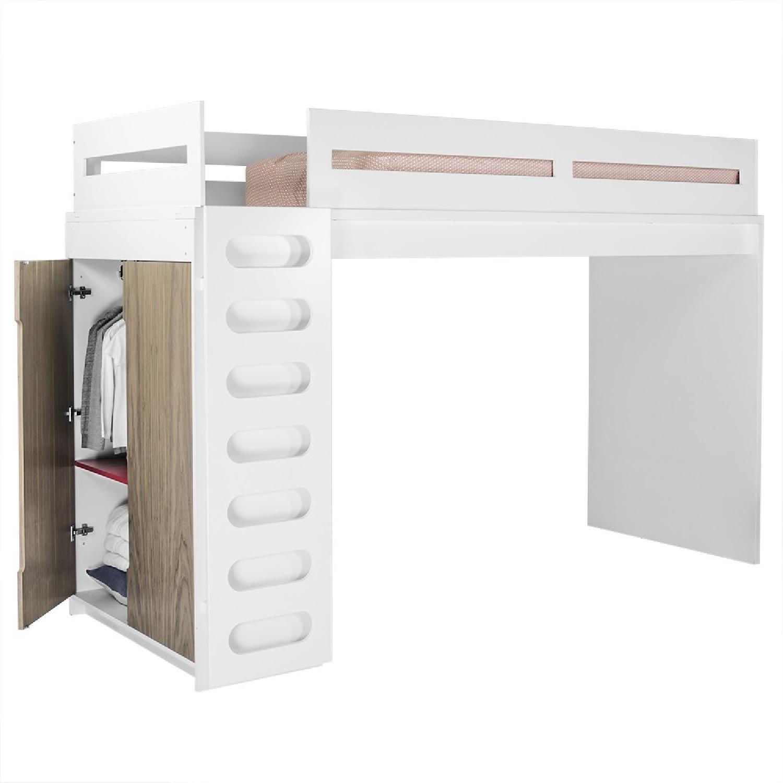 Duc Duc Loft Bed w/ Matching Platform Bed - image-5