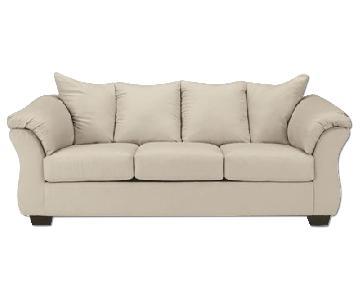 Ashley's Darcy Sofa in Stone